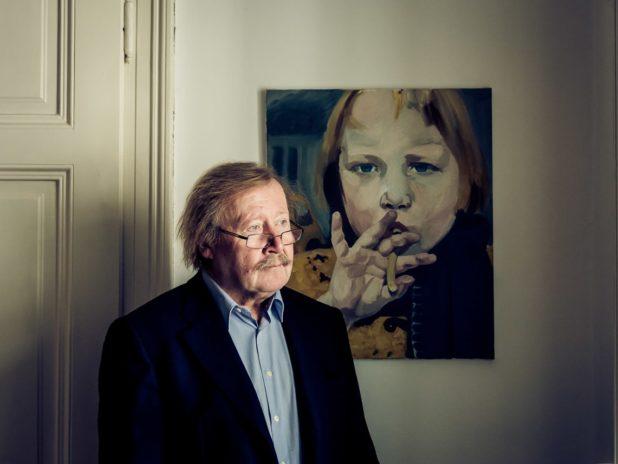 Austria / Vienna / 2013  / Peter Sloterdijk, philosopher  ¬ © Klaus Pichler / Anzenberger